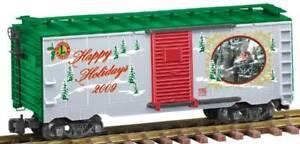 Lionel 8-87031 Large Scale 2009 Christmas Boxcar NIB