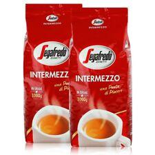 Segafredo Intermezzo Espresso Kaffee-Bohnen 1kg - Stark & Würzig (2er Pack)