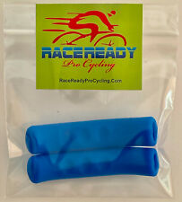 2 Pack of Blue RACEREADY Brake Lever Covers - Special Sticky Soft Grip