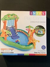 Intex Jungle Inflatable Swimming Pool Play Center New Free Shipping