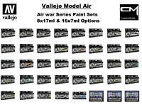 Vallejo Model Air - 'Air War Series' Airbrush Paint Sets Choose Multiple Options
