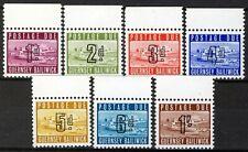 Guernsey 1969, Postage due margin set MNH, Mi 1-7 cat 45€