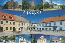 POLAND - POLSKA - ŁĘCZYCA - KOŚCIUSZKI - ZAMEK - KLASZTOR - RATUSZ - LENTSCHÜTZ