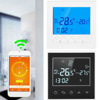 Programmable Wireles Wifi Digital LCD Heating Thermostat Phone App Control NEW