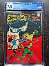GREEN LANTERN COMICS #31 CGC FN/VF 7.0; White pg!; Hasen Harlequin cvr!