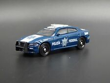 2017 17 DODGE CHARGER POLICIA FEDERAL SSP POLICE 1:64 SCALE DIECAST MODEL CAR