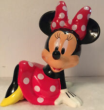 New In Box  Disney Minnie Mouse Ceramic Coin Bank