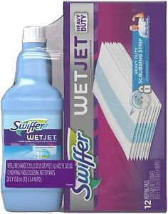 Swiffer WetJet Pad & Liquid Bundle Pack - 42.2 fl oz/12ct