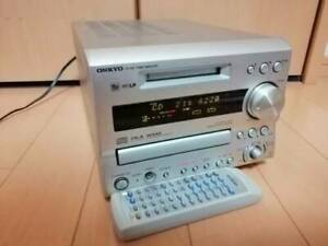 ONKYO FR-X9A CD MD Recorder Compact Disk Mini Disk  Deck JAPAN