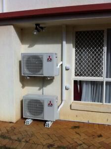 Design Quote Split System airconditoner install installaton Single double storys