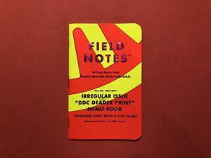 Field Notes DDC Deader Print Single Notebook - Sun Kingdom