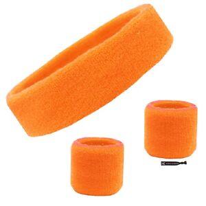 Sweatband Set Exercise Headband Wristbands Workout Head Wrist Sweat Band