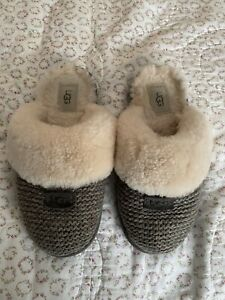 Ugg Cozy Knit Slipper Women Size 7