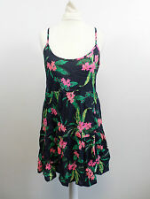 Superdry Vintage Fete Print Cami Dress SIZE S UK 10 BRAND NEW BOX8515 F