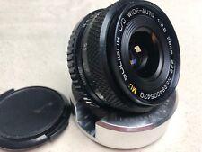 Soligor Pentax M42 Screw Mount 28mm 2.8 Wide Angle Lens {2}