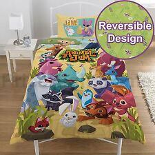 Animal Jam Single Duvet Cover Set Reversible Kids Bedding