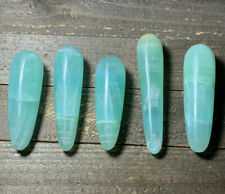 BEAUTIFUL NEW FIND! SEA GREEN PISTACHIO CALCITE CRYSTAL WAND (1) PIECE