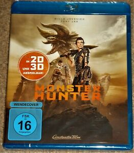 MONSTER HUNTER 3D & 2D BLU RAY / IMPORT / WORLDWIDE SHIPPING / NEW & SEALED