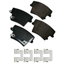 Disc Brake Pad Set-ProACT Ultra Premium Ceramic Pads Rear Akebono ACT1057