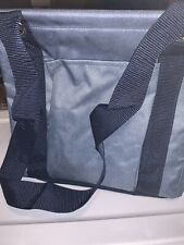 Thirty One Small Utility Tote Bag Denim Distressed  NEW Shopping