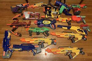 Nerf gun dart blaster Lot /  broken / for parts