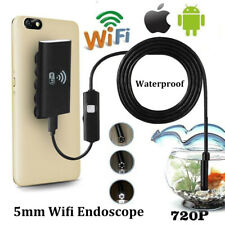5.5mm Wifi Endoscope Waterproof Inspection Camera Cable for iPhone X XS Max 8 7
