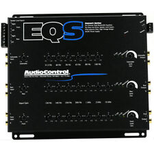 AudioControl EQS 6-Channel Equalizer w/ Built-in Line Driver 6 Inputs & Outputs