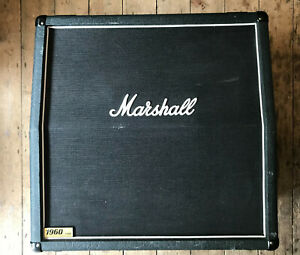 Marshall 1960 Lead 4x12 slope front cab