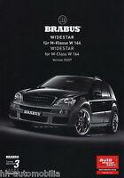 2273MB Brabus M-Klasse Widestar W 164 Prospekt 2007 3/07 D+GB deutsch brochure
