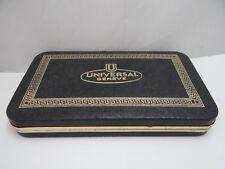 Universal Geneve Watch Box Vintage 1950's