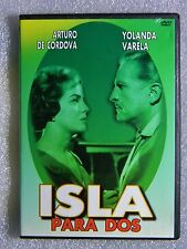 Isla Para Dos FF DVD b/w Mexican Classic Cinema and en Espanol Never in Color
