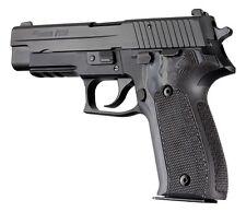 Hogue Sig Sauer P226 DA/SA Checkered G-10 - G -Mascus Grip 26177-Black/Gray