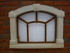 Eisenfenster, Stallfenster, Fenster mit Stichbogen, aus Eisen, wirkt antik, NEU