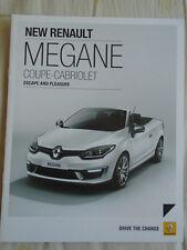 Renault Megane Coupe Cabriolet brochure Apr 2014