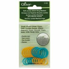 Clover Soft Stitch Ring Markers Jumbo