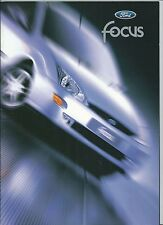 1998 FORD FOCUS brochure italiano Ambiente Trend Ghia 1.4 - 1.6 - 1.8 - 2.0 - TD