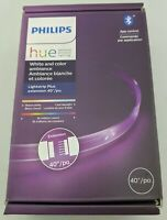 """Philips Hue White/Color Ambiance LED Lightstrip Extension 40"""" In Box Excellent"""