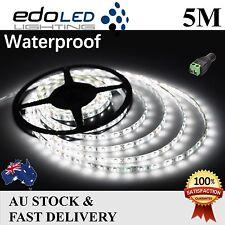 12v light strips led lights ebay 5m waterproof cool white 3528 smd 300 leds led strip lights 12v camping car boat aloadofball Gallery