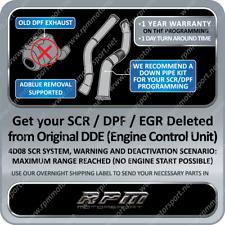 (DPF, DEF, DTC, FAP or EGR Delete ECU-File-Diesel Service), (Transmission Tuning