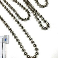 ROLLER HOLLAND BLINDS METAL CHAIN BLIND STEEL SILVER DRIVER CHAINS 1M 2M 3M 4M