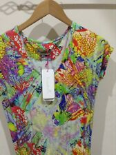 Twisted Muse Bright Multicoloured Maxi Dress Size XS