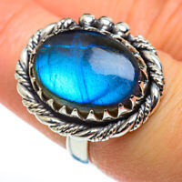 Labradorite 925 Sterling Silver Ring Size 7 Ana Co Jewelry R46354F