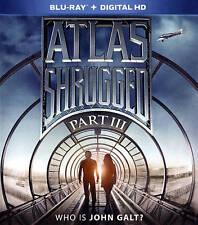 ATLAS SHRUGGED PART III 3 WHO IS JOHN GALT Blu-ray New Free Ship