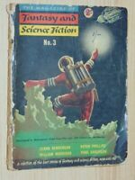 The Magazine Of Fantasy And Science Fiction Aus Edition No. 3 Anderson, P 1955