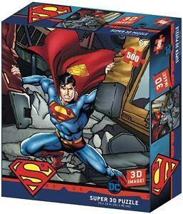Superman Strength 500 Piece 3D-Look jigsaw puzzle (kc)