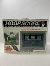Hoopscore Driveway Basketball Outdoor Electronic Scoreboard Jh1000 Watch