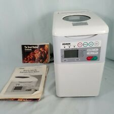 Tested- Zojirushi Automatic Bread Maker Machine Bbcc-S15 w/ spoon/cup/manual