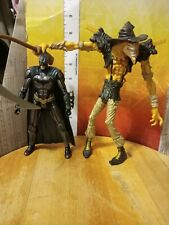 DC COMICS 1998 Kenner SCARECROW & Batman ACTION FIGURE lot