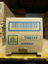 Genuine Konica Minolta A0VW434  TN-614C TN614C Toner Cartridge Cyan