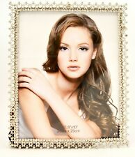 Delicate Maria Picture Frame By Ciel Collectables. Swarovski Crystal
